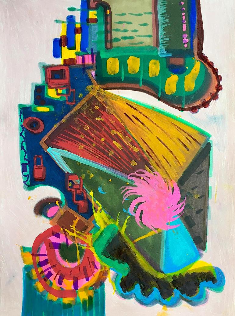 Daily Abstract #10 by JonnyPenn