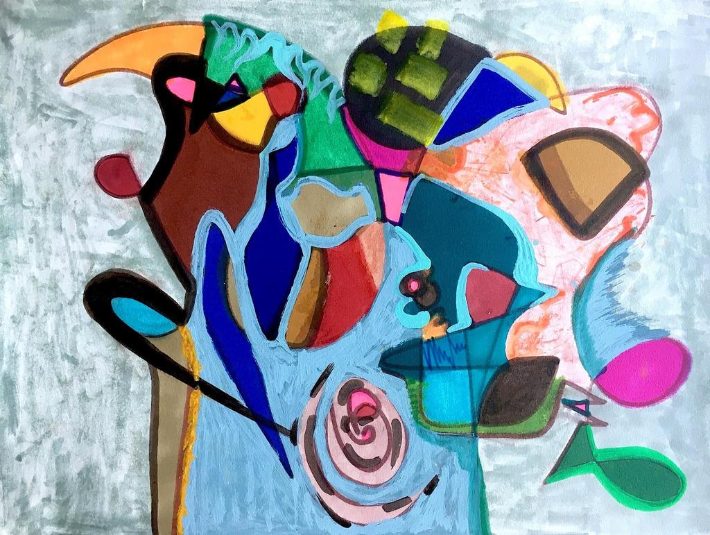 Daily Abstract #11 by JonnyPenn
