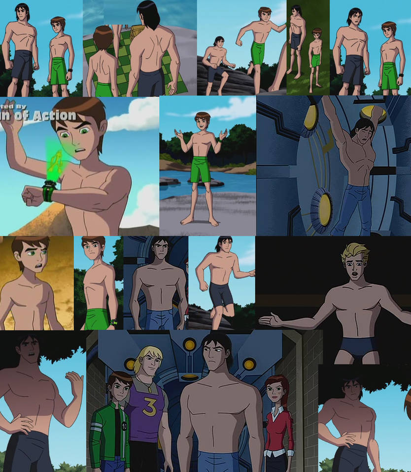 Ben 10 Alien Force Shirtless scenes by Werelyokoman ...