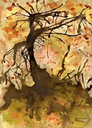 L'albero morto ovvero un uomo by thefrikkist
