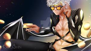 [Obey Me! Fan Art] Greed