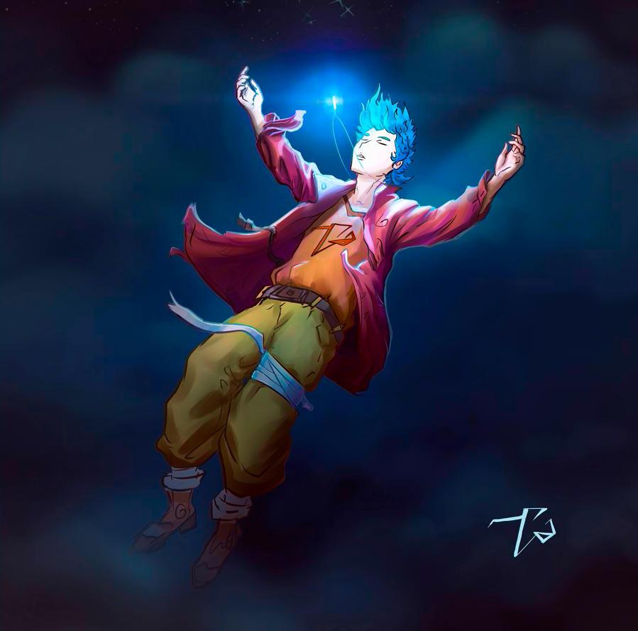 Drawing with SAI -crystal power by tatang999