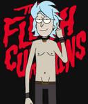 Flesh Curtains Rick Sanchez
