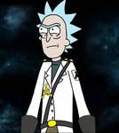 Rick and Morty Guard Rick