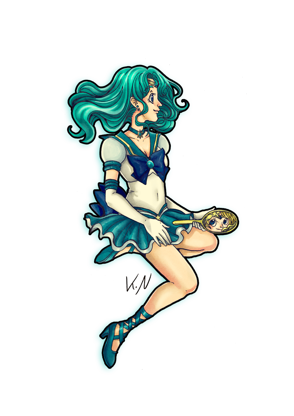 30 days of what inspires me day 1 sailor neptune by kaos felida 30 days of what inspires me day 1 sailor neptune by kaos felida