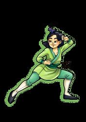 30 days of what inspires me - Day 7 Mulan by Kaos-Felida