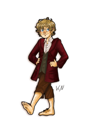 30 days of what inspires me - Day 14 Bilbo by Kaos-Felida
