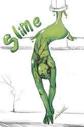 Slime Boy by Elisiami