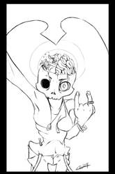 Selfie Zombi! by Elisiami
