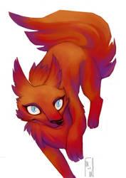 Red Foxy by Elisiami