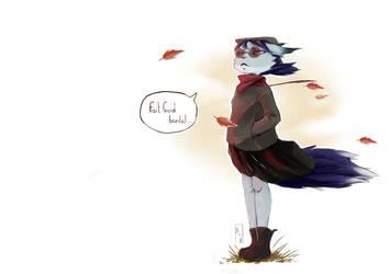 Le froid de l'Automne by Elisiami