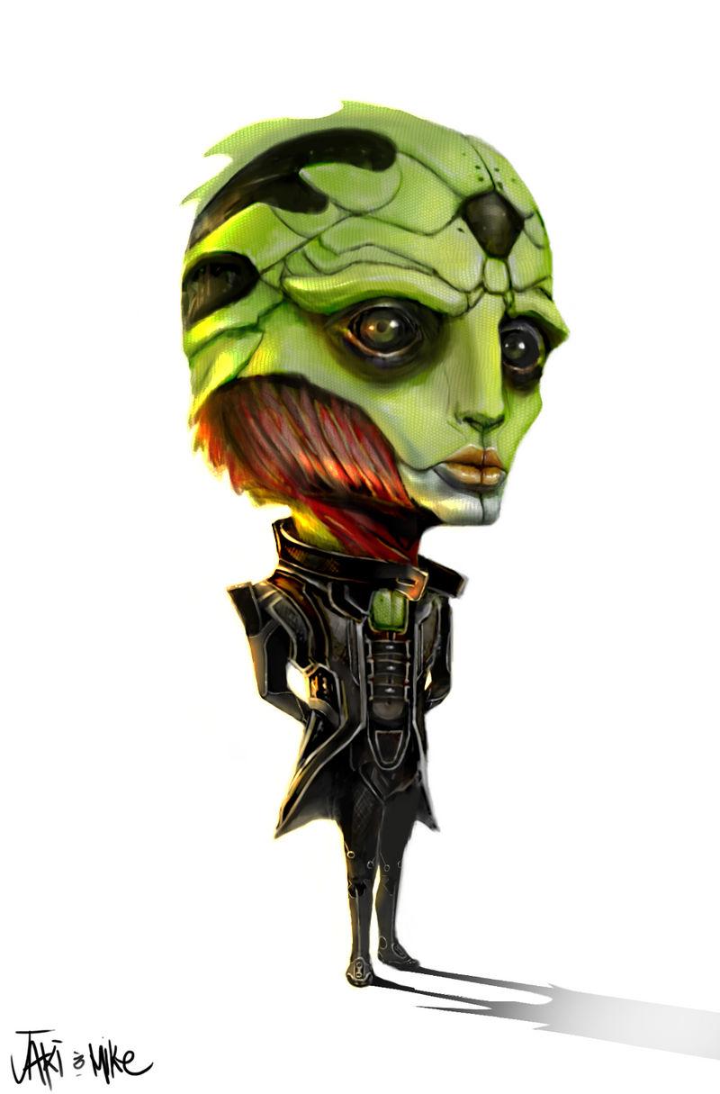 Mass Effect Thane Chibi