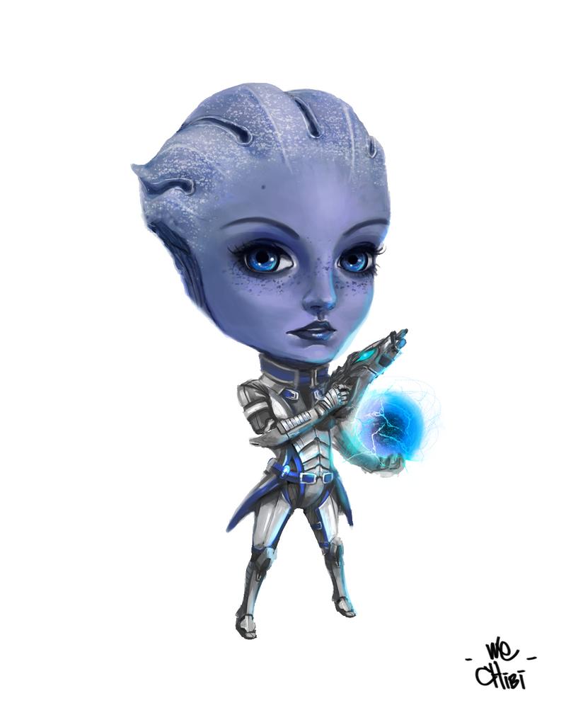 Mass Effect Liara Chibi by We-Chibi