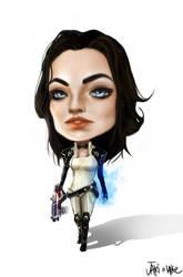 Mass Effect Miranda Chibi