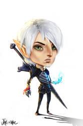 Dragon Age Fenris Chibi