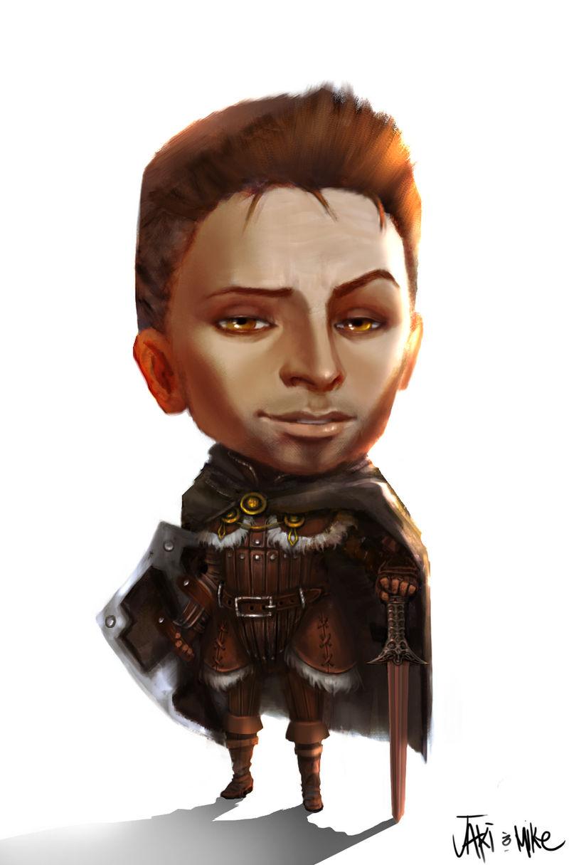 Dragon Age Alistair Chibi
