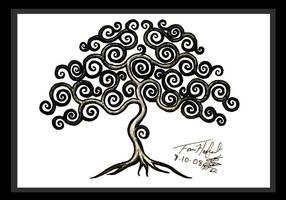 Curly Tree by sladeside