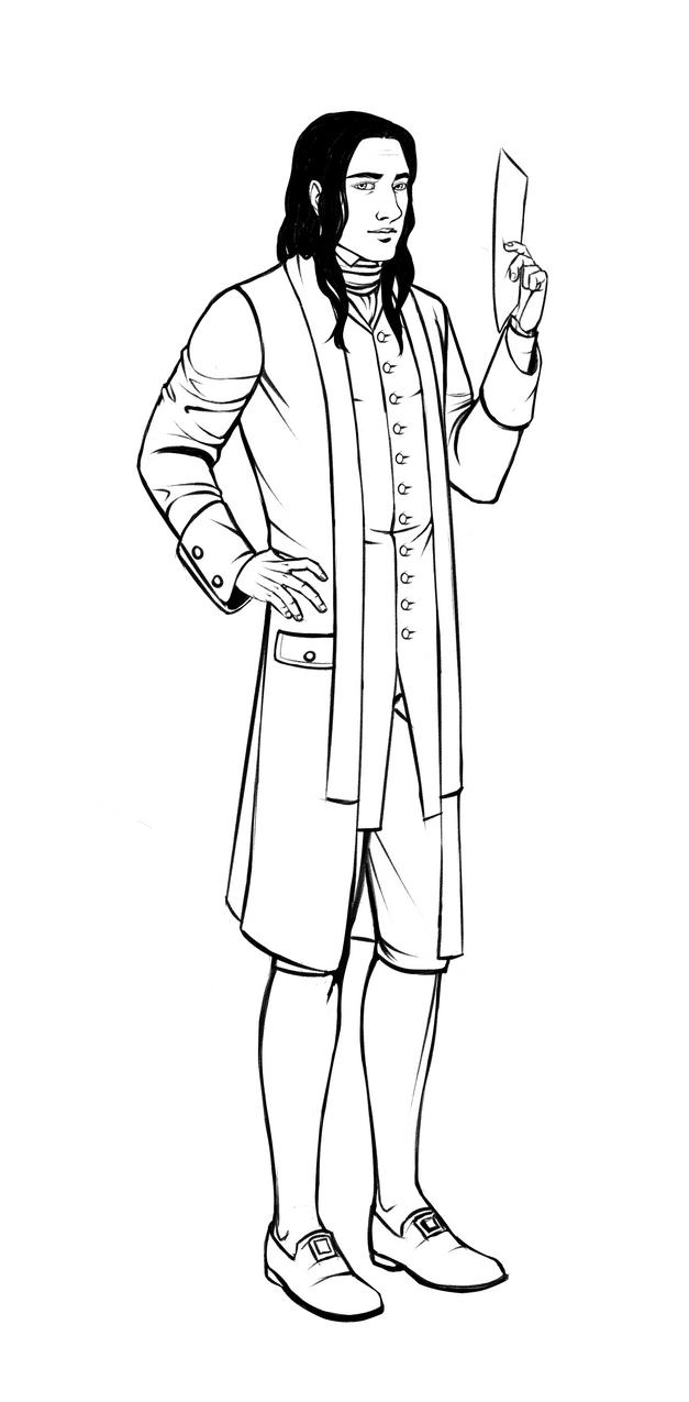 Sketch: Edmund by BlackDeathman