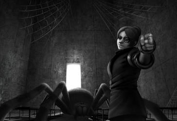Big Spider by BlackDeathman