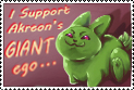 I Support Akreon by Avaira