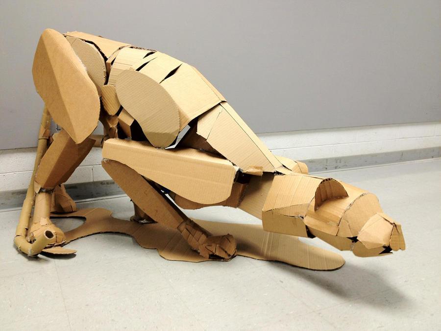 3D Cardboard Model