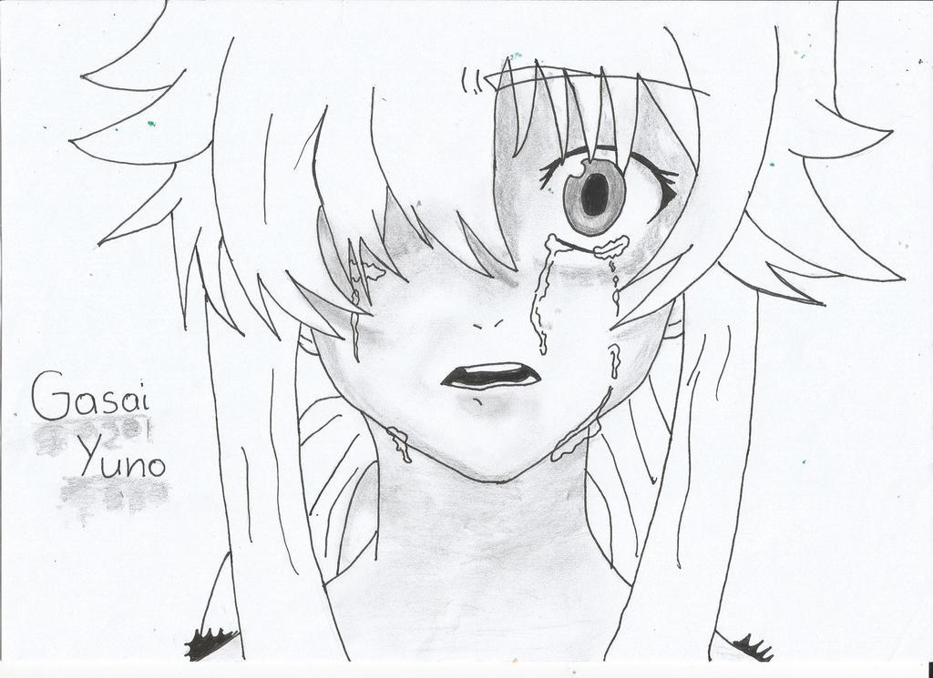 Yuno Gasai By Zuzka-chan On DeviantArt
