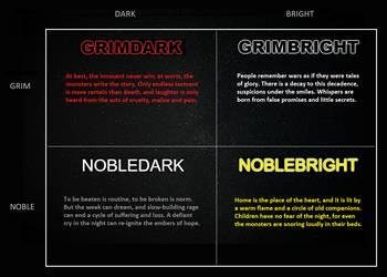 Grim, Bright, Noble, and Dark by KnytGrey
