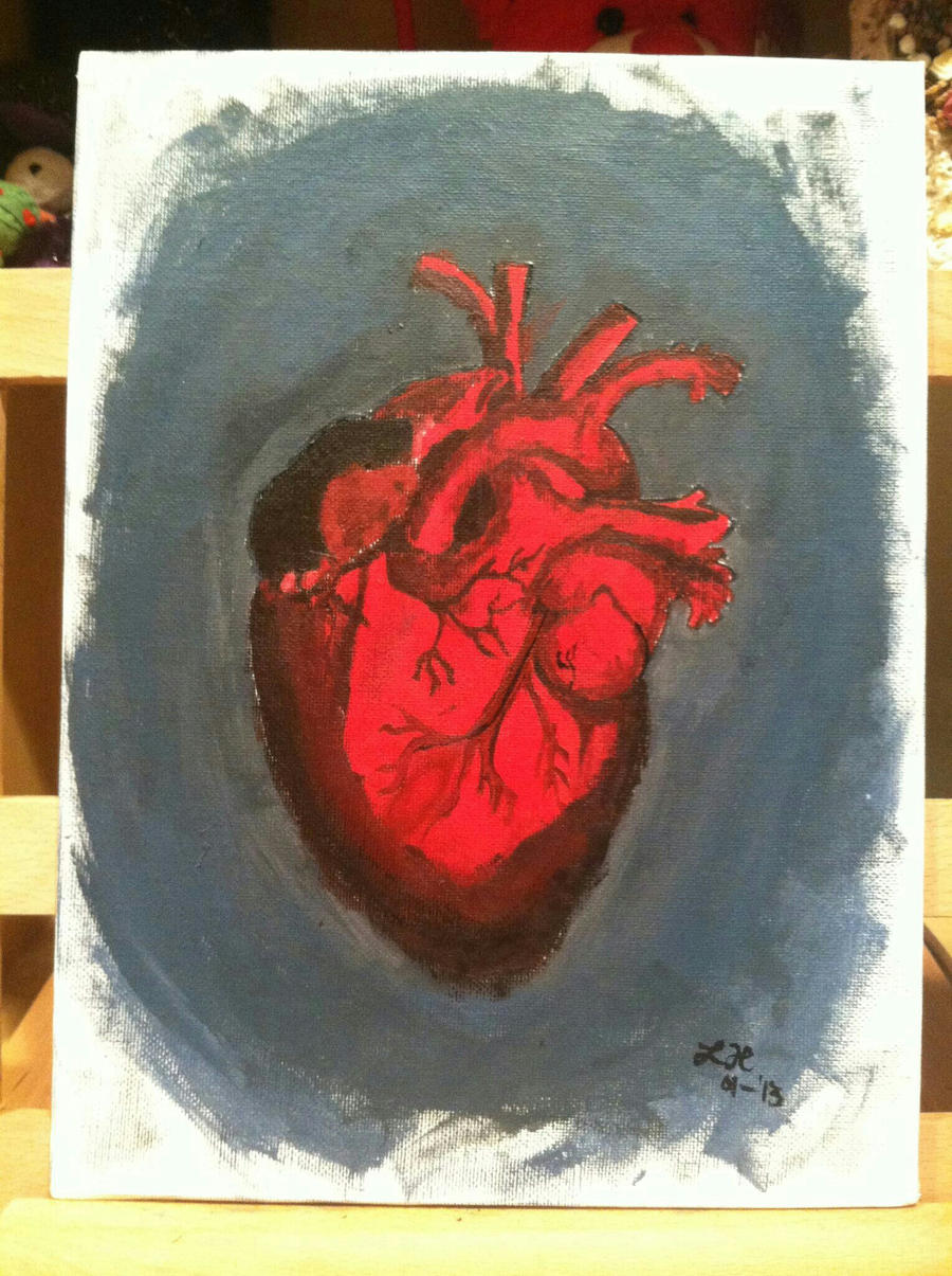 how to draw an anatomically correct heart