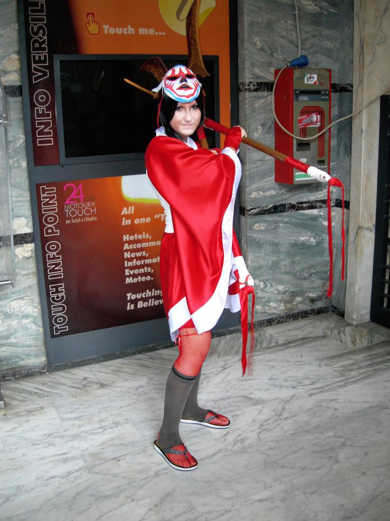 Akali Blood Moon Cosplay by MEMIsWonderwall on DeviantArt  Bloodmoon Akali Costume