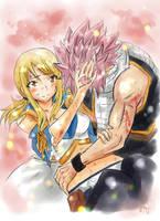 Natsu and Lucy - Vulnerable (NaLu Week Day 2) by MEMIsWonderwall