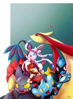 Pokemon Team (2) by MEMIsWonderwall