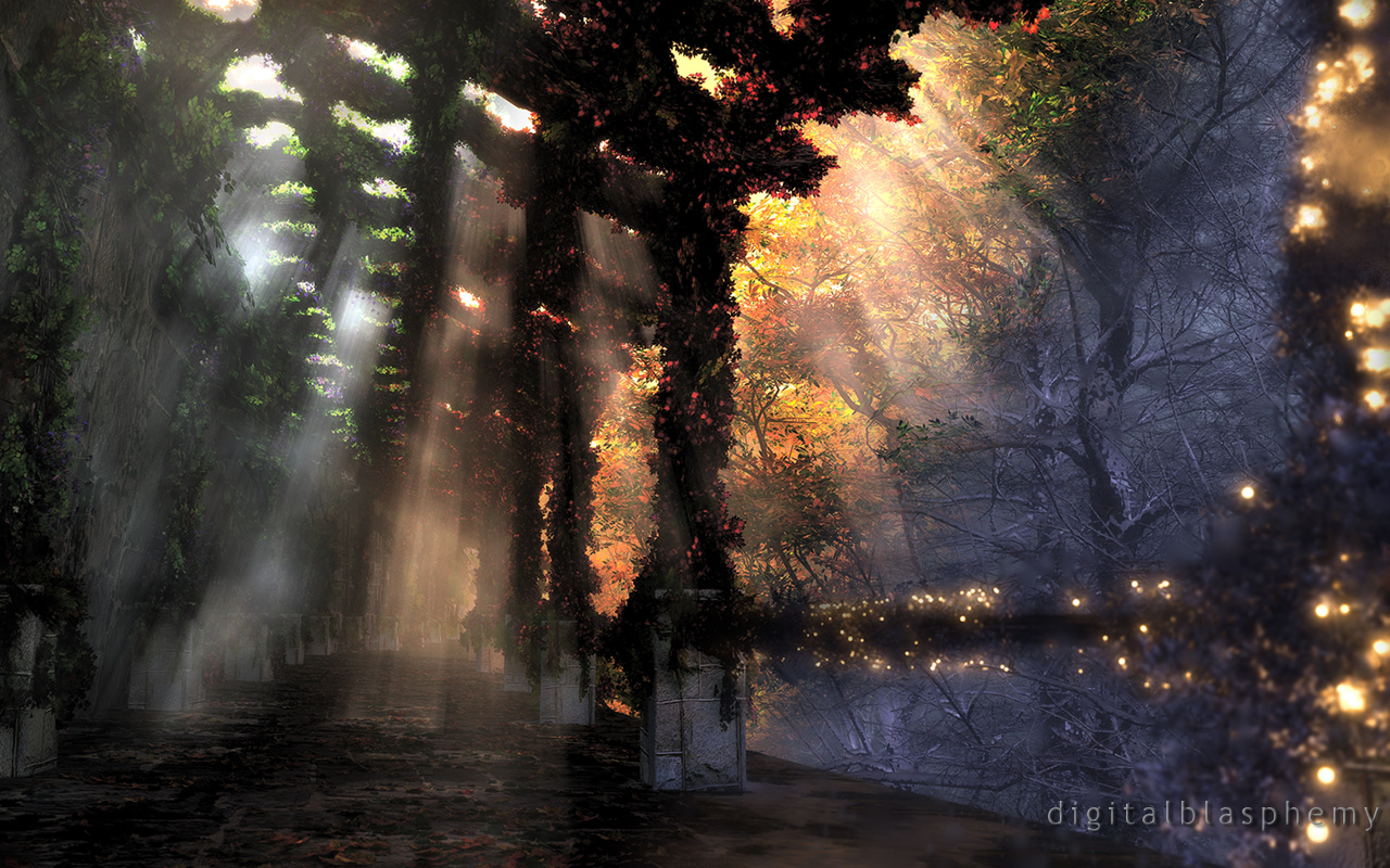The Shaded Path (Seasons) by dblasphemy