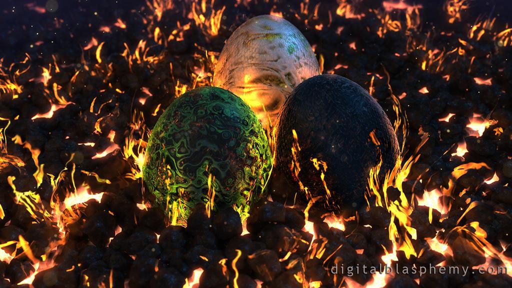 Fire Made Flesh by dblasphemy