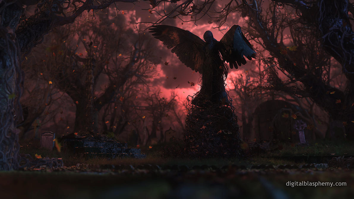 The Black Angel by dblasphemy