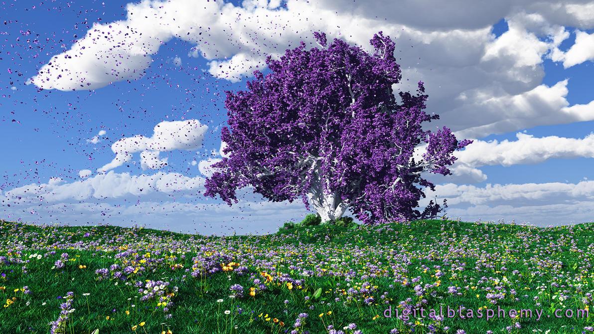 Purple Rain (Tribute to Prince) by dblasphemy
