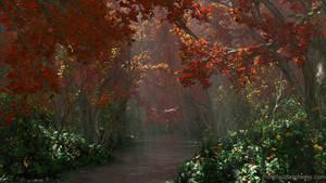 Dapplewood (Autumn) by dblasphemy