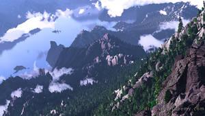 Cascadia (Summer) by dblasphemy