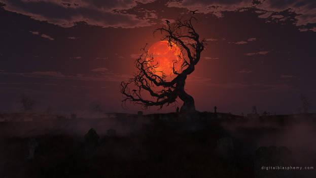 Harvest Moon (Happy Halloween 2018!) by dblasphemy