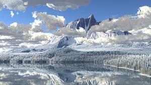 Sundered Mountain (Winter)