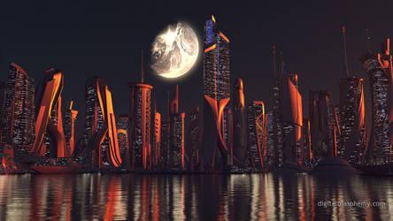 Skyline by dblasphemy
