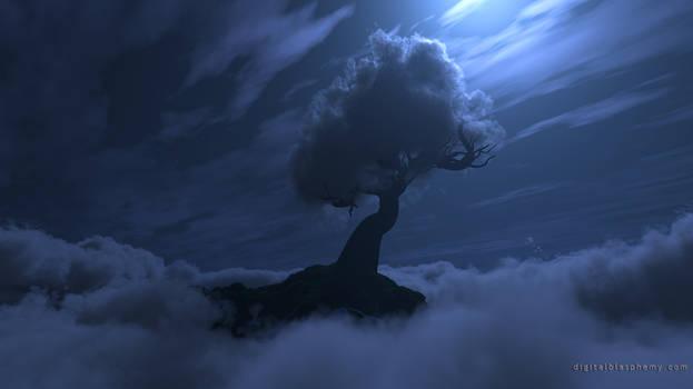 Cloud Tree (Night)