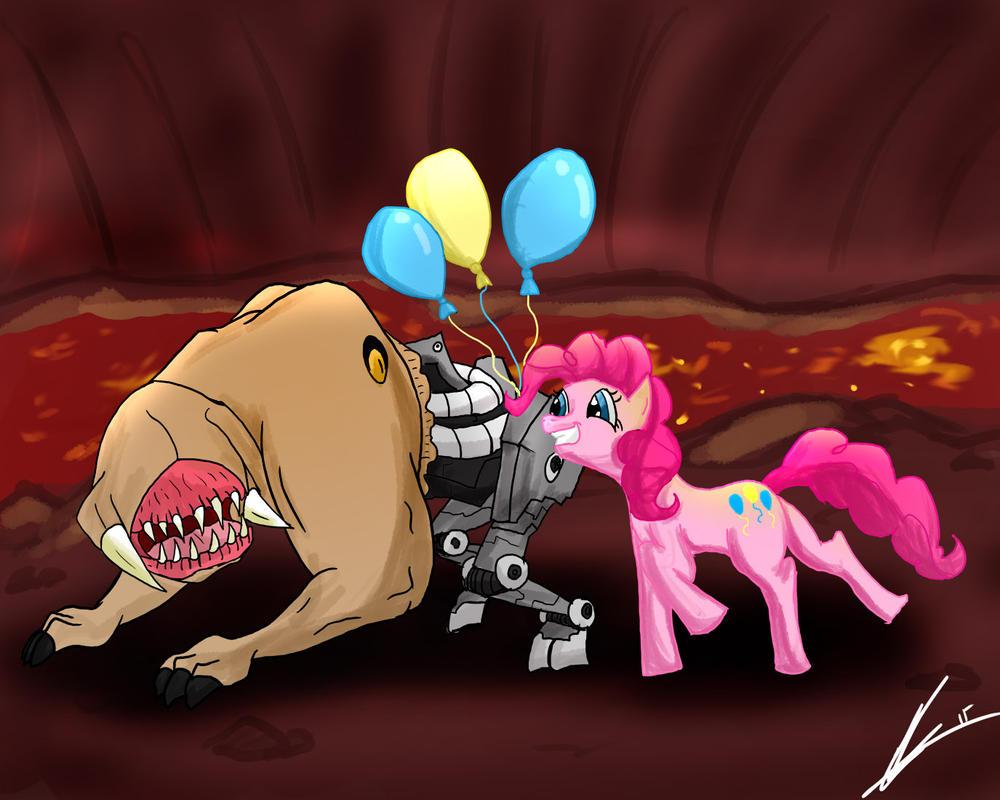 Pinky demon hentia whore