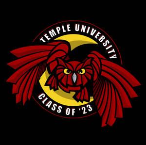 Temple University Class of '23 Logo