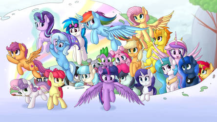 Ponies by VanillaGhosties