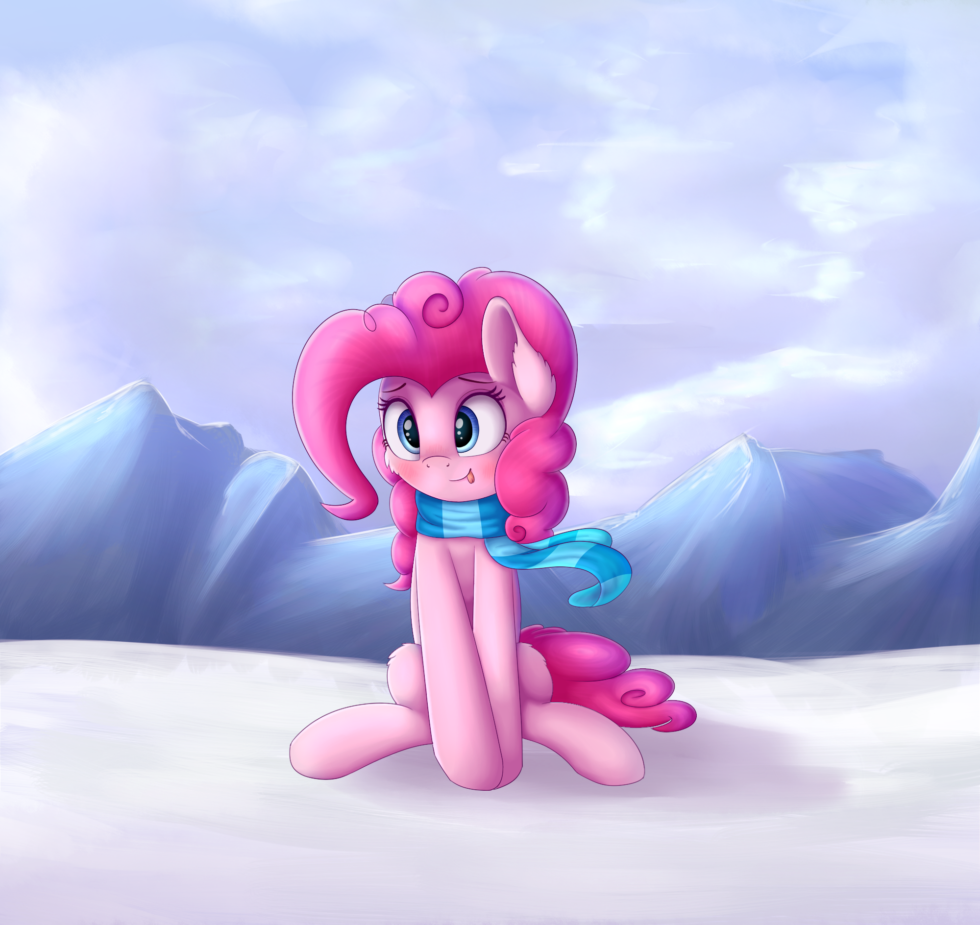 Winter Pinkie by VanillaGhosties
