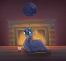Winter Night by VanillaGhosties