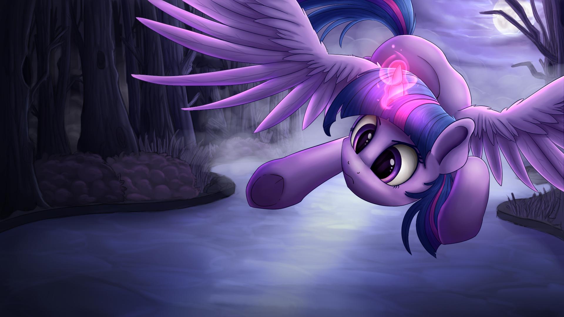 Twilight Sparkle Splash Art by VanillaGhosties