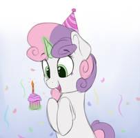 Birthday Belle by VanillaGhosties