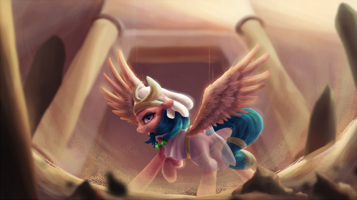 Ruler of the Sands by VanillaGhosties