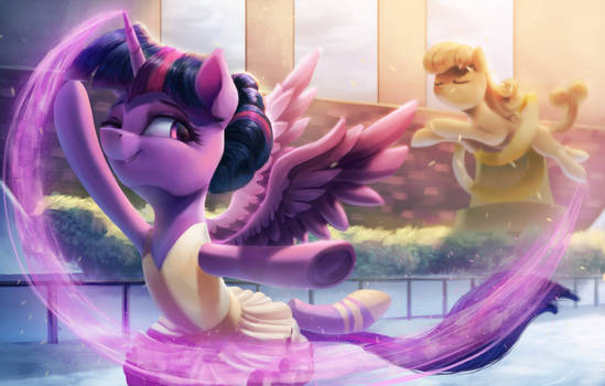 Twily On Ice by VanillaGhosties